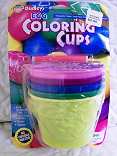 Dudleys Egg Coloring Cups