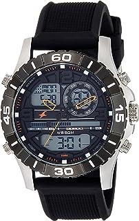 Fastrack Analog-Digital Orange Dial Men's Watch-NK38035SP03