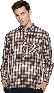 BUFFALO By fbb Men's Checkered Regular Fit Cotton Casual Shirt