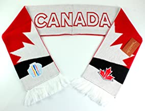 Mitchell & Ness World Cup of Hockey Team Country Knitted Scarf