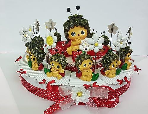 Torte Gastgeschenk Marienk r mädchen Stücken von 20 heiben Taufe Kommunion Konfirmation Geburtstag
