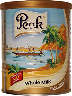 Peak Instant Full-Cream Milk Powder, 400-Grams (Pack of 2)