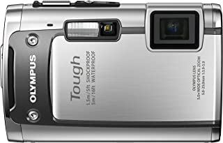 OLYMPUS 防水デジタルカメラ TOUGH TG-610 シルバー 5m防水 1.5m耐落下衝撃 -10℃耐低温 1400万画素 3Dフォト機能 Eye-Fiカード対応 TG-610 SLV