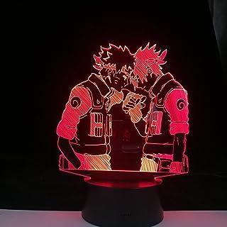 Anime Comic Lamp 3D Lamp Uzumaki Kakashi Sasuke Haruno Sakura Japanese Manga Led Night Light Naruto Cartoon Kids Birthday ...