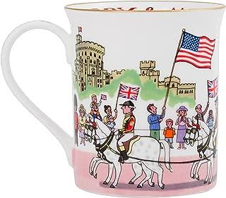 Alison Gardiner Famous Illustrator - Prince Harry and Meghan Royal Wedding Commemorative Fine Bone China Coffee Cup and Tea Mug - Premium Quality and Detail
