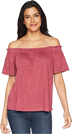 Carlee Off Shoulder Tee