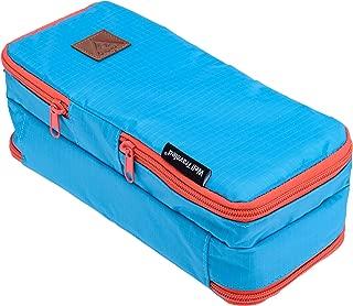 Well Traveled Toiletry Bag - Small Travel Dopp Kit & Bathroom Bag