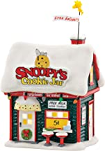 Department 56 Peanuts Village Snoopy's Cookie Jar Lit House, 6.77 inch