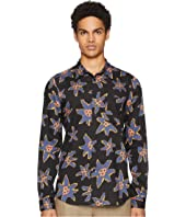 Paul Smith - Long Sleeve Abstract Floral Shirt