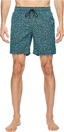 Floral Printed Dale Swim Trunk