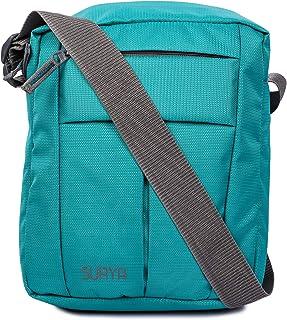 Surya Men's and Women's Polyester Cross Body Messenger Bag (Rama Green)
