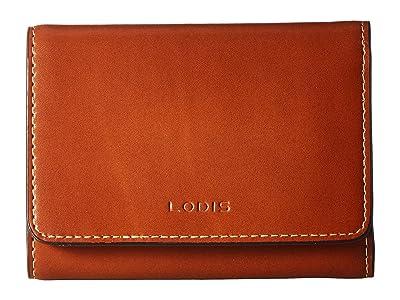 Lodis Accessories Audrey RFID Mallory French Purse (Sequoia/Papaya) Wallet Handbags