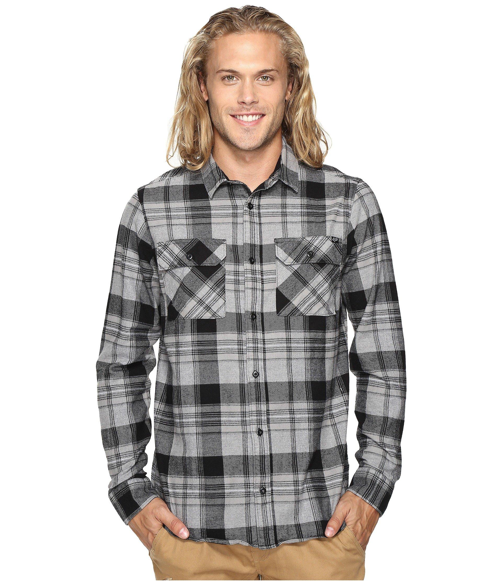 Camisa para Hombre Fox Glamper Long Sleeve Flannel  + Fox en VeoyCompro.net