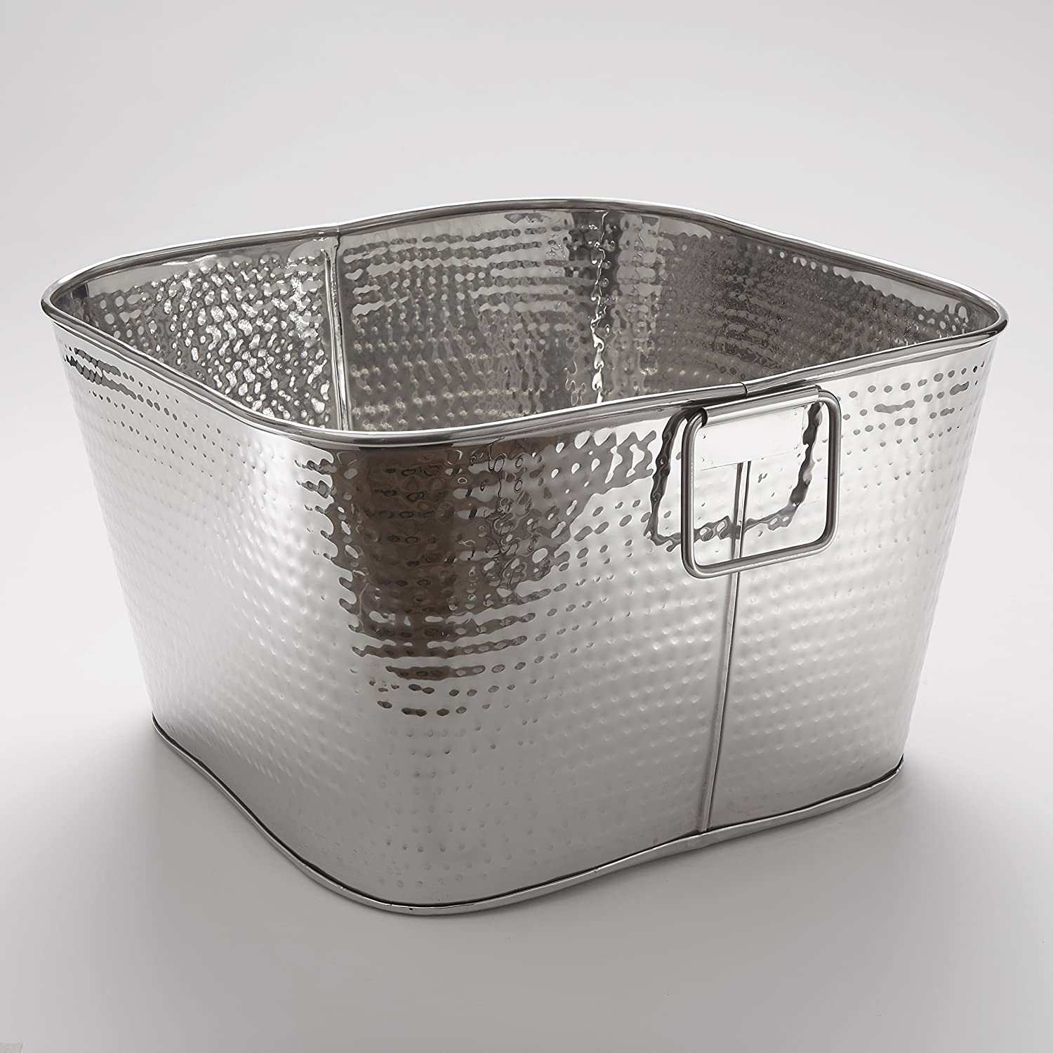 American Metalcraft STH16 supreme Hammered Max 49% OFF Steel Stainless Tub Square