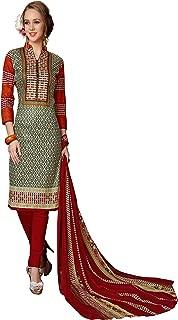 Minu salwar Cotton Printed Suit sets Multi(Mannat_1009_0)