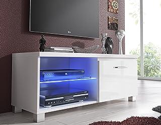 SelectionHome - Módulo salón Comedor TV, Color Blanco y