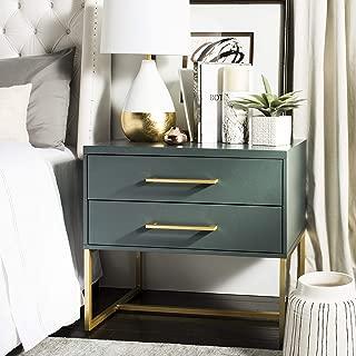 Amazon.com: Green - Nightstands / Bedroom Furniture: Home ...