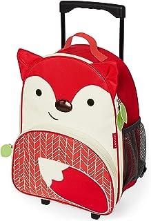 Skip Hop Kids Luggage With Wheels, Fox