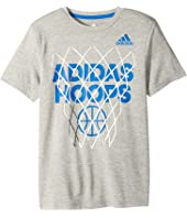 adidas Kids - Slam Dunk Tee (Big Kids)