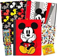 Disney Mickey Mouse School Supplies Value Pack ~ Folders, Notebook, Pencils, and Stickers