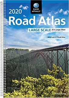 Rand McNally 2020 Road Atlas Large Scale