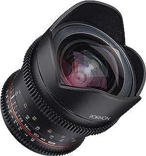 Rokinon 16–16mm f/2,6–22Prime Feste T2.6Full Frame Cine Weitwinkel Objektiv für MFT, schwarz (ffds16m mft)