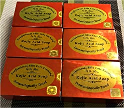 LOT OF 6 bars Kojic acid soap by Dr alvin professional and skin care fomula