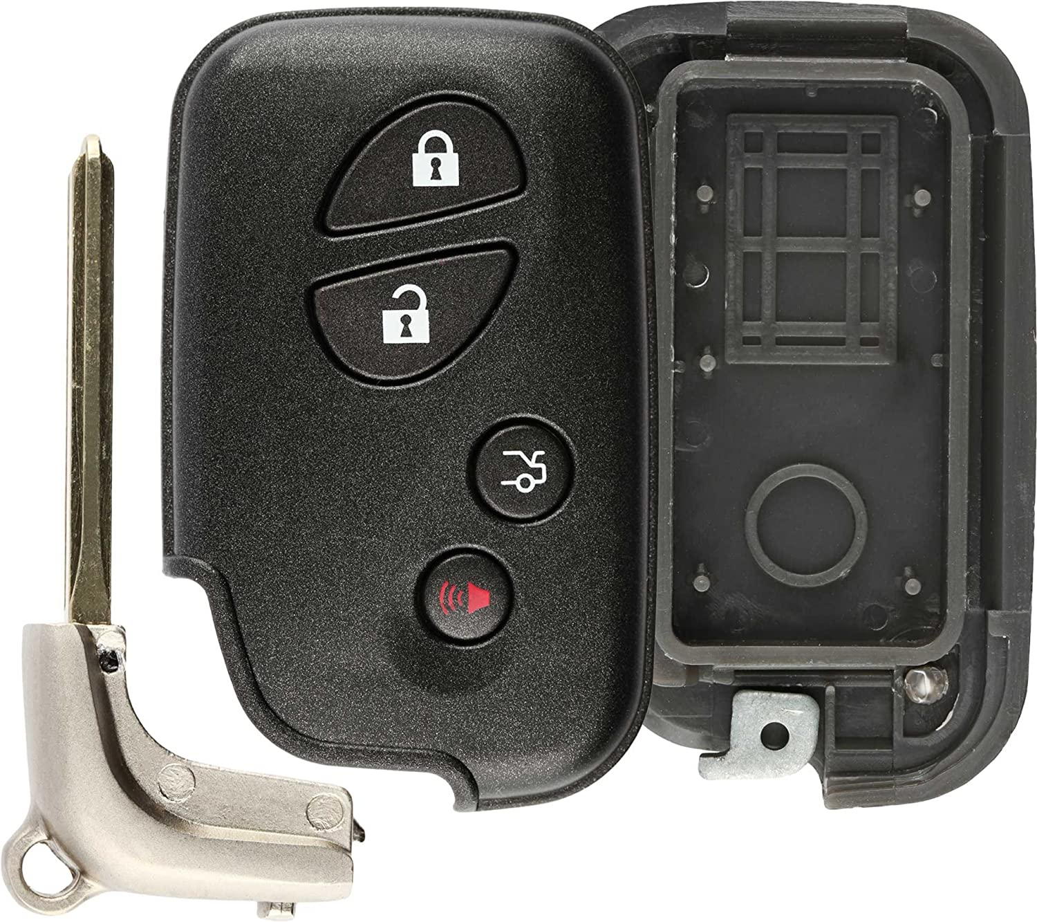 KeylessOption Keyless Entry Remote Ranking Fixed price for sale TOP20 Key Car C Fob Smart Shell