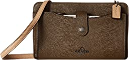 COACH Pop Up Messenger in Color Block Leather