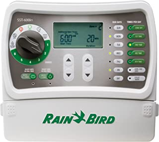 Rain Bird SST600IN Simple-to-Set Indoor Sprinkler/Irrigation System Timer/Controller,..