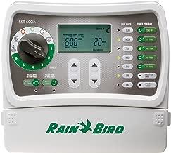 Rain Bird SST600IN Simple-to-Set Indoor Sprinkler/Irrigation System Timer Controller, 6-Zone/Station (New & Improved Model Replaces, SST600I)