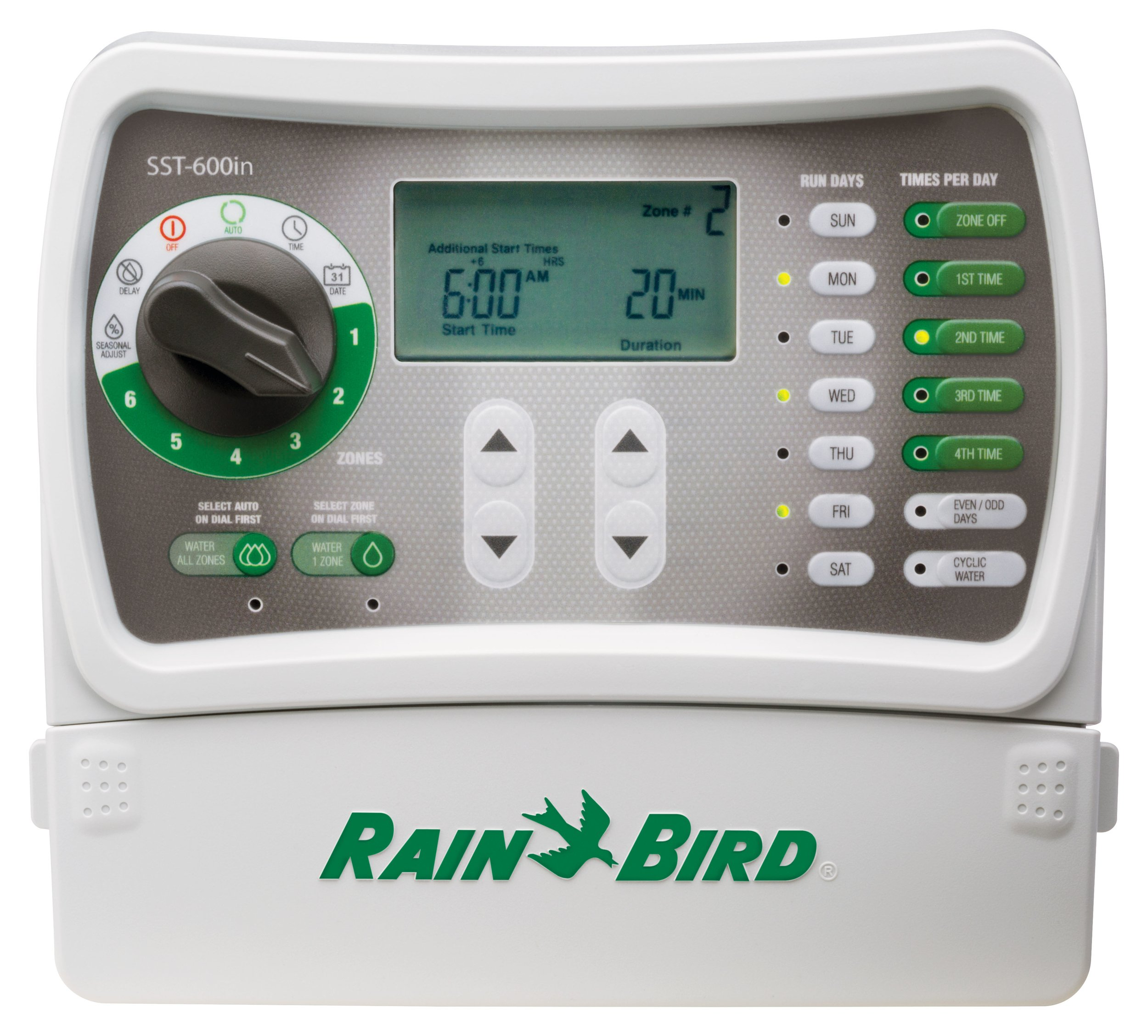 Rain Bird SST600IN Irrigation 6 Station