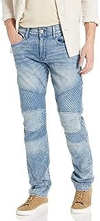 True Religion Men's Geno Moto Slim Leg fit Jean
