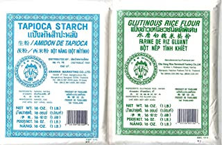 Tapioca Starch and Glutinous Rice Flour Combination Pack
