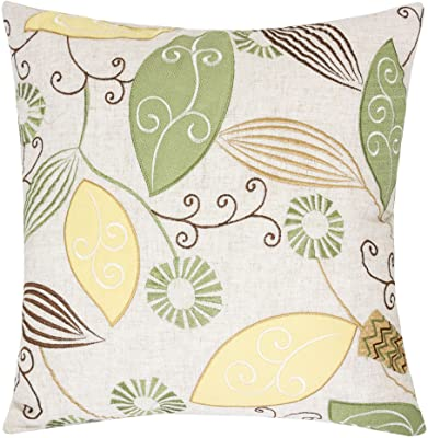 Homy Cozy 41021-Linda Accent Pillow, Single, Natural