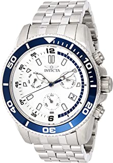 Invicta Men'S Silver Dial Stainless Steel Band Watch - 24651,
