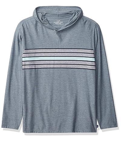 Vineyard Vines Long Sleeve Surf Stripe Edgartown Hoodie T-shirt