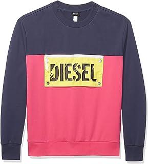 Diesel Men's Bmowt-baysea Sweat-Shirt Sweatshirt