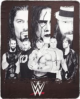 Silver Buffalo WE0621 WWE All Stars Fleece Throw Blanket, 50 in. x 60 in.