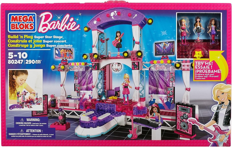 Mega Bloks 80247 - Barbie - Build n Style Rock Star Stage