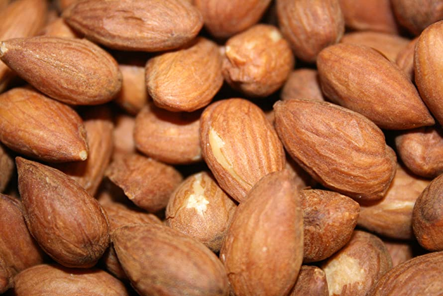 Almonds Roasted and Unsalted, 5 Lbs