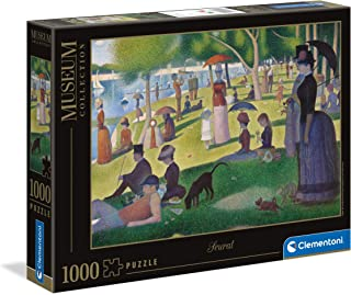 Clementoni 39613, Museum Sunday on La Grande Jatte Puzzle for Children and Adults - 1000 Pieces, Ages 10 years Plus