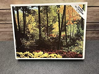 "Vintage Whitman 1970's""Peaceful Forest 750 Piece Whitman Jigsaw Puzzle"