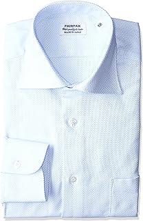 [フェアファクス] 形態安定加工バスケットワイドカラーシャツ 8204 メンズ