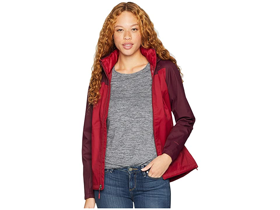 The North Face Resolve Plus Jacket (Rumba Red/Fig) Women