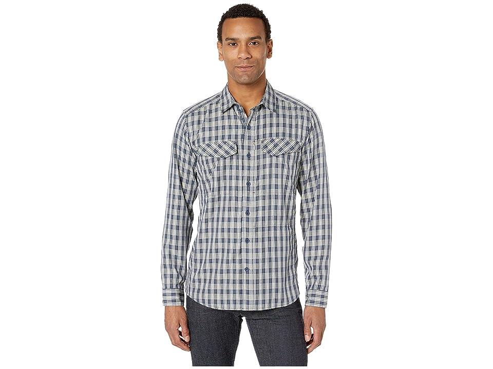 Royal Robbins Bug Barriertm Ultra Light Long Sleeve Shirt (Navy) Men