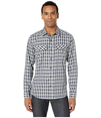 Royal Robbins Bug Barriertm Ultra Light Long Sleeve Shirt (Navy) Men