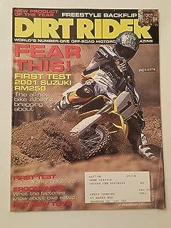 DIRT RIDER - October 2000 - Greg Albertyn / Suzuki RM250 / Shane Watts / YZ426F