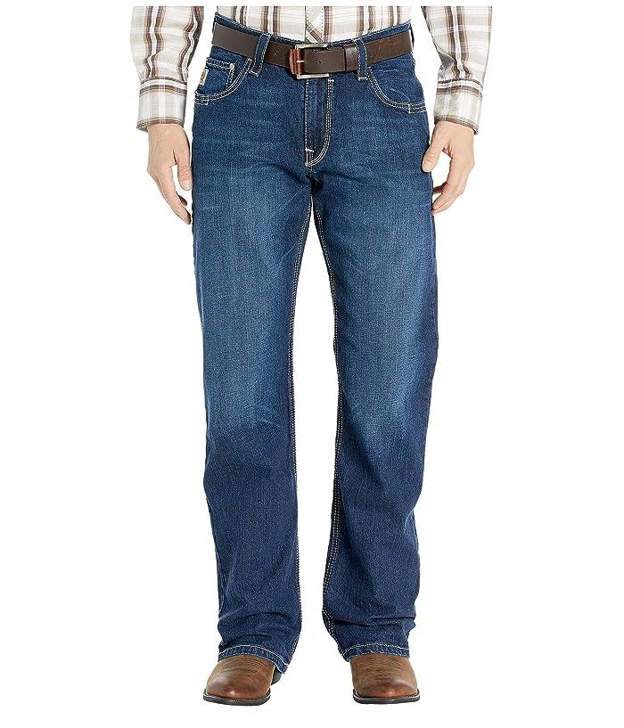 Cinch Men's Carter 2.0 Medium Stone Jeans in Indigo