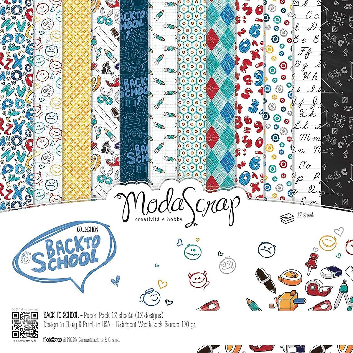 Elizabeth Craft Designs MSC12-30 Elizabeth Craft ModaScrap Paper Pack 12